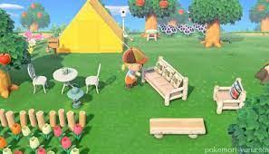 ガーデン ベンチ あつ 森