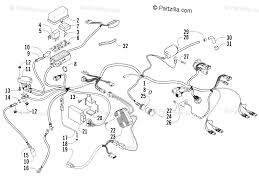 arctic cat wiring harness wiring diagram used arctic cat atv 2005 oem parts diagram for wiring harness assembly arctic cat z1 turbo wiring