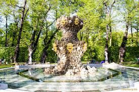 сад в Санкт Петербурге Летний сад в Санкт Петербурге