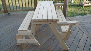 Free Picnic Table Designs Shelf Plans 2x4 Plans For Folding Picnic Table Bench