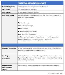 Epic - Scaled Agile Framework