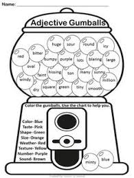 adjectives are sweet