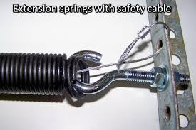 torsion spring home depot. photo 3\u2013 extension springs with safety cable inside torsion spring home depot