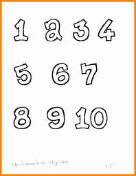 number templates 1 10 number templates 1 10 4 fresh pics 001 davidhamed com