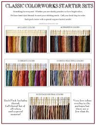 Starter Sets By Classic Colorworks Choices Include Classic