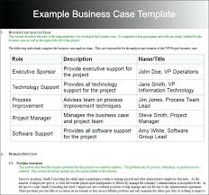 Business Case Template It Project Example Simple By Ex – Iinan.co