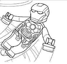 Ironman Lego Da Colorare Gratis Disegni Da Colorare E Stampare