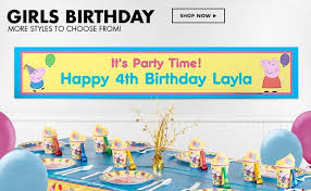 custom happy birthday banner party city happy birthday banner best business template