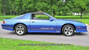 1987 Chevrolet Camaro Z28 IROC-Z--Midwest Auto Collection with ...