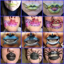 face paint forum yoda chesire shark spider mouth