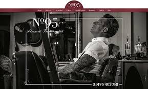 Barber Shop Website No 95 Barbershop Designed By Malinky Media