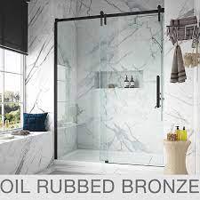 tempered glass shower door