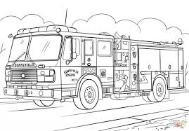 fire truck coloring page.  Page Coloring Page Fire Truck Colouring To Pretty Mesmerizing Trucks Books With E
