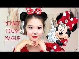 minnie mouse makeup hair tutorial