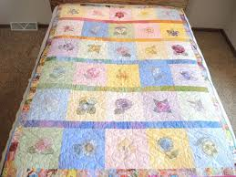 39 best Quilts For Sale images on Pinterest | Marbles, Patchwork ... & Quilts Patchwork Embroidered Quilted by CandyTheArtist on Etsy Adamdwight.com