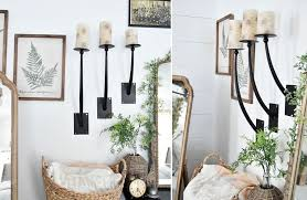 metal candle wall sconce decor steals