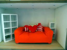 ikea doll furniture. Couch, Heart Shaped Pillow, And Large White Bookcase: Part Of The IKEA Huset Ikea Doll Furniture