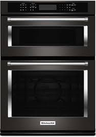 kitchenaid black stainless. kitchenaid® black stainless 30 inch combination wall oven with convection kitchenaid d