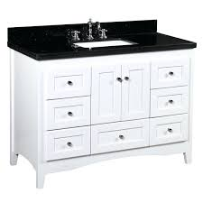 bathroom vanity 48 inch abbey inch vanity black white bosley 48 double sink modern bathroom vanity
