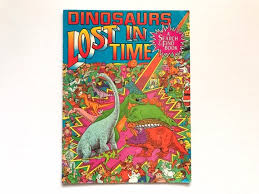 The puzzle, created by graphic design and illustration company doodlemoose designs, has some songs that will require you to get your thinking cap on. Dinosaurs Lost In Time Search And Find Book 90s Kids Books Etsy