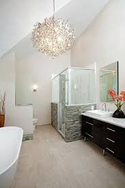 modern bathroom chandeliers medium size of for bathroom inspirational bathroom ideas over the bathtub chandelier fancy modern bathroom chandeliers uk