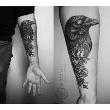 Belt Crow Tattoo Best Tattoo Ideas Gallery