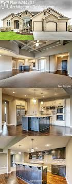 Architectural Designs House Plan 62442DJ comes to life! This design gives  you an open floor