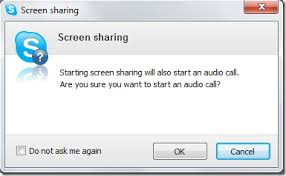 Screen Sharing With Audio How To Enable Screen Sharing Through Skype