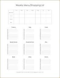 Printable Weekly Dinner Menu Blank 2 Week Calendar Printable Monthly Calendar Place