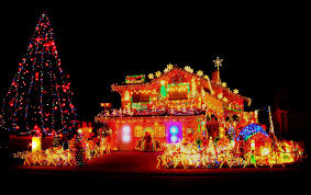 pictures of homes decorated for christmas outside part 48