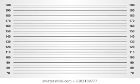 Height Chart Pictures Mugshot Height Chart Images Stock Photos Vectors