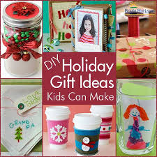 DIY Holiday Gifts Kids Can Make  Craft Gift Ideas For Teachers Homemade Christmas Gifts That Kids Can Make