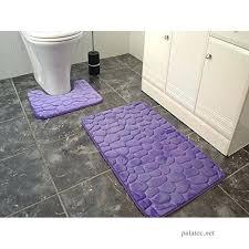 large memory foam bath mat purple memory foam bath mats large washable 2 piece set toilet large memory foam bath mat