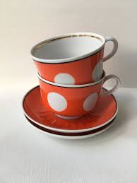 Red ceramic mug with black coffee, white coffee espresso coffee cup cafe, mug, tea, teacup png. 2 Soviet Vintage Coffee Cups 80 S Red Polka Dots Faience Etsy