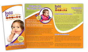 design a childcare center assignment brochure linda s pumpkin patch brochure sample creations you linda s pumpkin patch brochure sample creations you