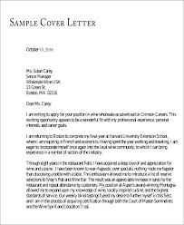 Sample Cover Letters For High School Students Cover Letter For ...