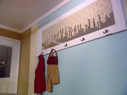 Old Door Coat Rack Turn an Old Door into a Coat Rack HGTV 56