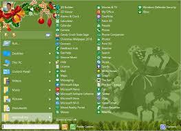 Christmas Program Theme Download Start Menu X Christmas Theme 6 3
