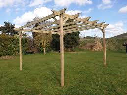 wooden garden pergola 42 diffe