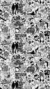 ics black and white iphone se wallpaper