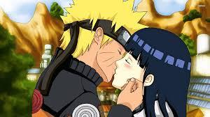 Naruto And Hinata, anime, Kiss, love wallpaper   anime