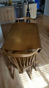 r veal son antique maple table and four chairs for in puyallup wa offerup