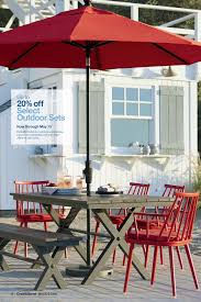 summer the union collections patriotic windsor style chairs of weather resistant powdercoated aluminum salute summer at a classic picnic table topped with aluminum crate barrel