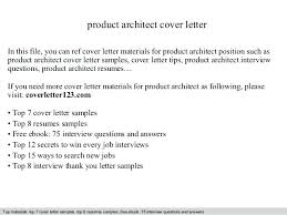 Cover Letters For Architects Stanmartin
