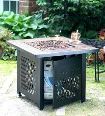 small tabletop gas fire pits table propane awesome pit on outdoor patio are tables safe pr