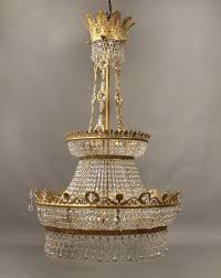 large and beautiful late 19th century russian empire style chandelier