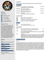 Cv Template Format Layout Word Formal Sample Doc For