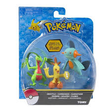 Pok?mon 3 Pack 3 inch Figure Set - Combusken, Marshtomp and Grovyle in 2020  | Pokemon, Pokemon toy, Action figures