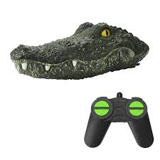 <b>JJRC MX</b>-<b>0030</b> Simulation Crocodile Head RC Boat <b>2.4G</b> Remote ...