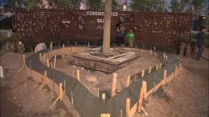 vegas community plants healing garden in memory of victims of massacre